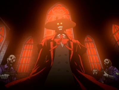 Hellsing 15 Sarcastic Quotes Alucard vampire