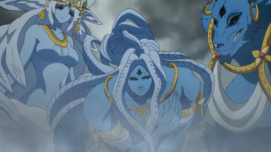 Magi: The Labyrinth of Magic djinn