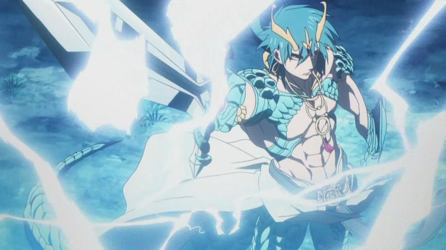 Magi: The Labyrinth of Magic djinn armor