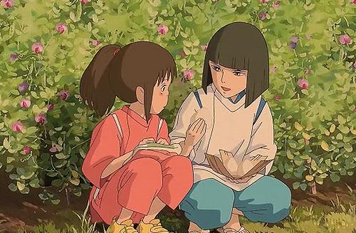 Chihiro And Haku From Spirited Away Friends Or More Myanimelist Net