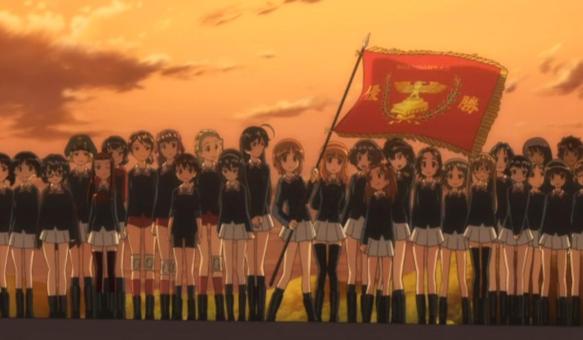 Girls Und Panzer Ooarai High School Sensha-do team