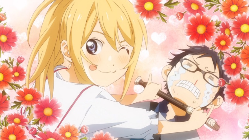 your lie in april Anime 2014
