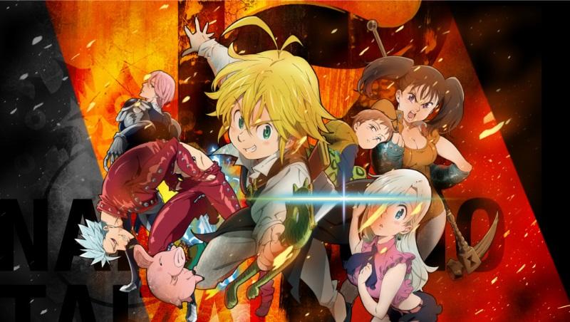 Nanatsu no Taizai Seven Deadly Sins Anime 2014
