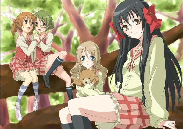 Top 15 Yuri Anime Strawberry Panic! Astraea Hill Students