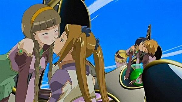 Top 15 Yuri Anime Simoun Sibyllae