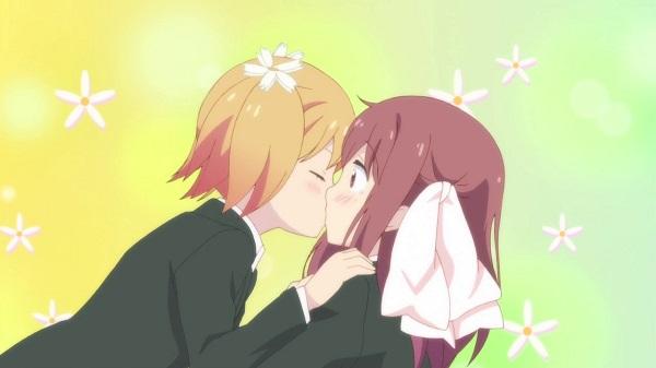 Top 15 Yuri Anime Sakura Trick Yuu Sonoda Haruka Takayama