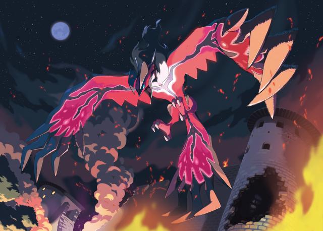 Yveltal Pokemon XY Game