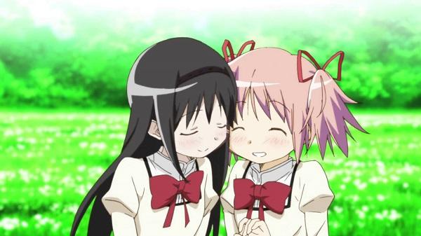 Top 15 Yuri Anime Mahou Shoujo Madoka★Magica Movie 3: Hangyaku no Monogatari Homura Akemi Madoka Kaname