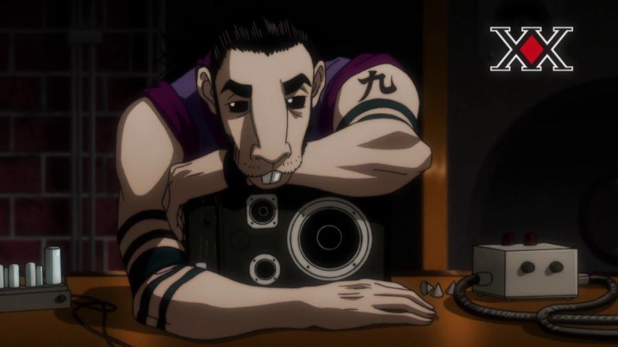 Hunter X Hunter Saccho Kobayakawa