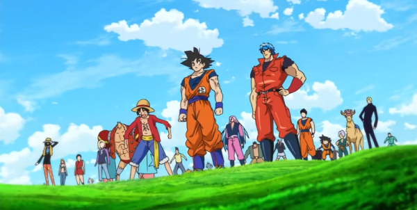 Toriko x One Piece x DBZ characters