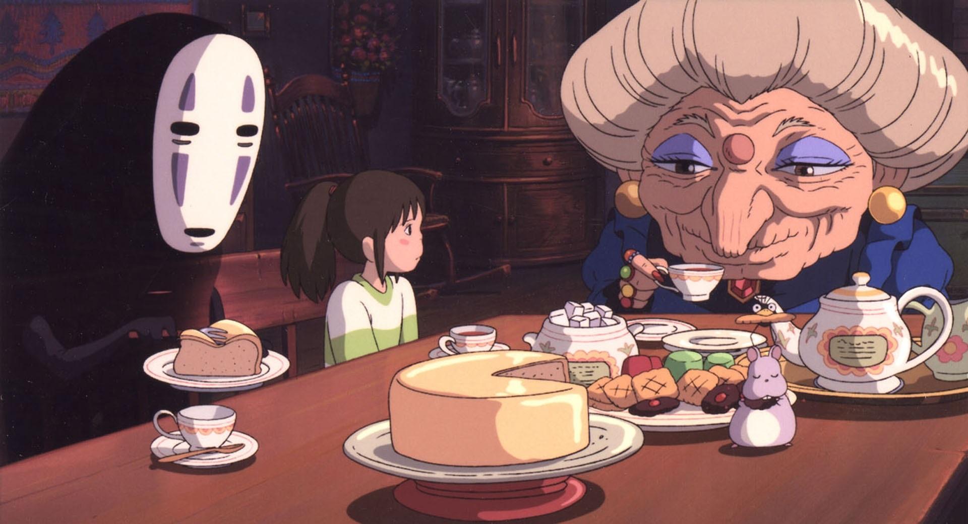 Sen to Chihiro no Kamikakushi Spirited Away: Chihiro, Zeniba, No-Face
