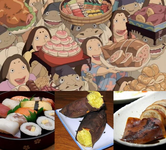 Sen to Chihiro no Kamikakushi Spirited Away: Bathhouse Workers, Food