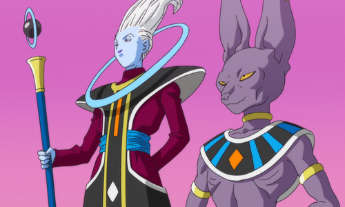 Whis with Beerus Dragon Ball Super Villain