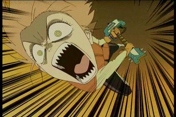Top 10 Craziest Anime Girls FLCL Haruka Haruhara