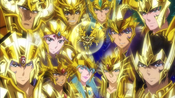 Saint Seiya: Soul of Gold cover