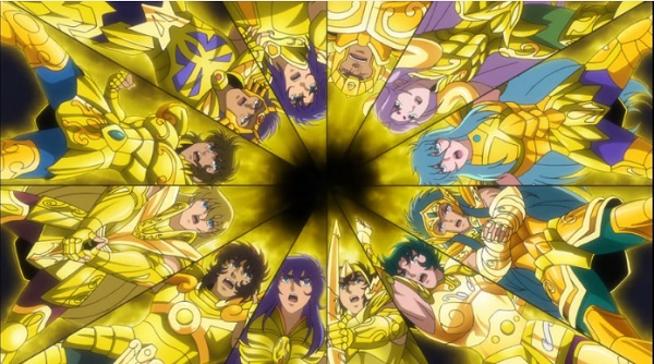Saint Seiya: Soul of Gold intro