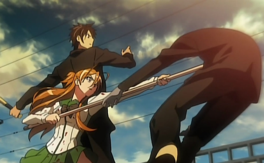 Highschool of the Dead: Takashi Komuro, Rei Miyamoto