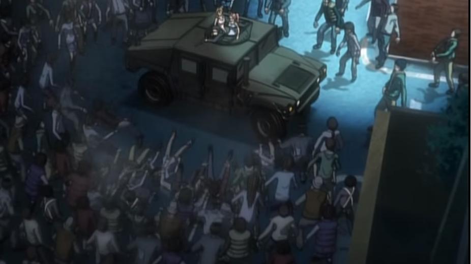 Highschool of the Dead: Fujimi Highschool Survivors, Zombies