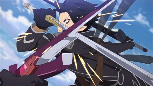 Sword Art Online, Dual Blades, Kazuto Kirigaya, Kirito,