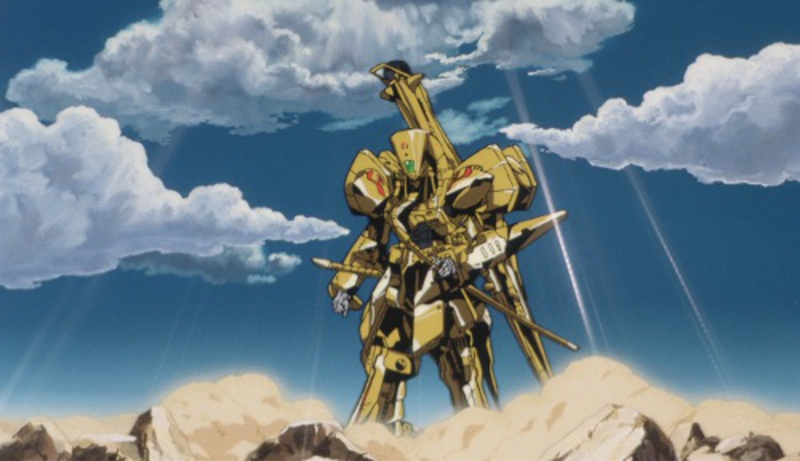 Five Star Stories Knight of Gold mecha anime robot