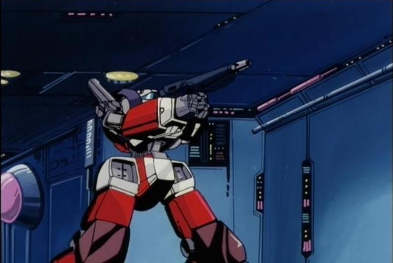 Megazone 23 mecha anime robot
