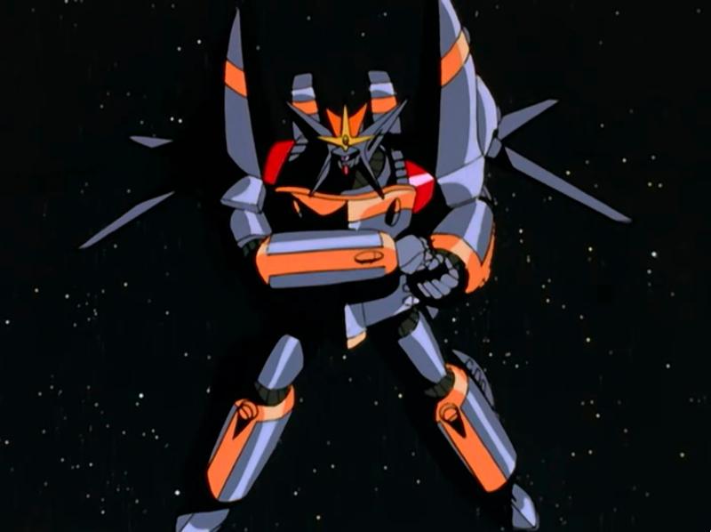 Top wo Nerae! Gunbuster mecha anime robot