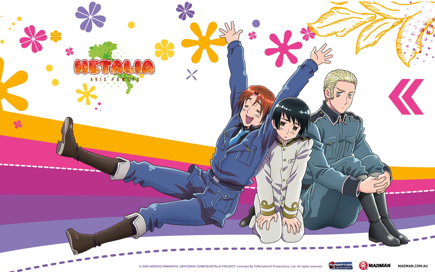 Hetalia Italy Germany Japan