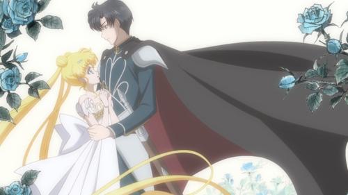 Sailor Moon Crystal Princess Serenity and Endymion