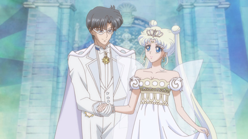 Sailor Moon Crystal Neo-Queen Serenity and King Endymion