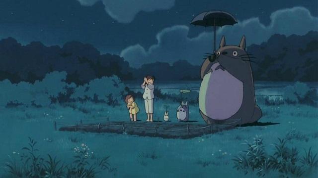 Tonari no Totoro: Satsuki Kusakabe, Mei Kusakabe, Totoro