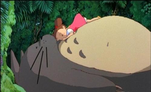 Tonari no Totoro: Mei Kusakabe, Totoro