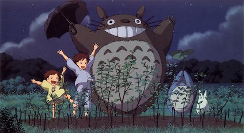 Tonari no Totoro: Tonari no Totoro: Mei Kusakabe, Satsuki Kusakabe, Totoro