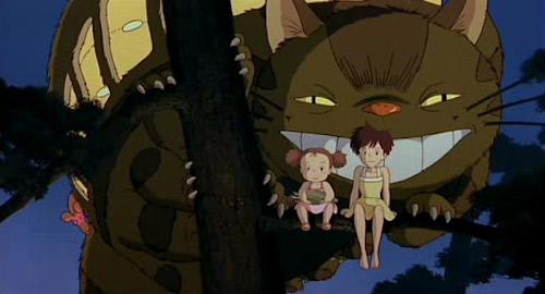 Tonari no Totoro: Mei Kusakabe, Satsuki Kusakabe, Nekobasu