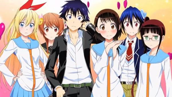 Top 20 Harem Anime Nisekoi Raku