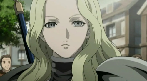 Teresa Claymore Anime Girls with Blonde Hair