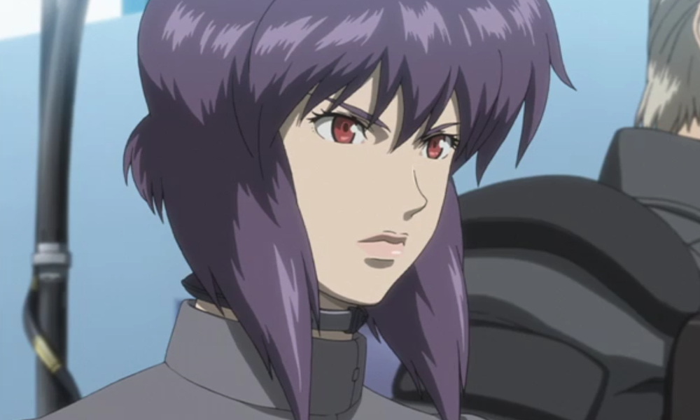 Ghost in the Shell Section 9 Motoko Kusanagi