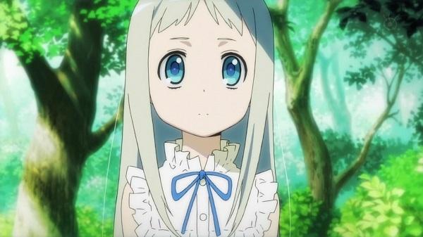 Kawaii Moe Anime Girls Ano Hi Mita Hana no Namae wo Bokutachi wa Mada Shiranai. Meiko Honma