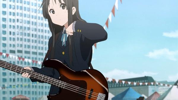 Kawaii Moe Anime Girls K-On!! Mio