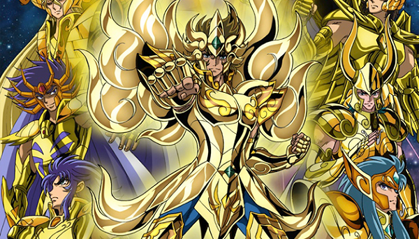 Saint Seiya:Soul of Gold cover