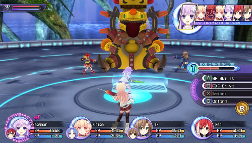 [Hyperdimension Neptunia: The Animation, Choujigen Game Neptune: The_Animation] Main Characters, Game Play