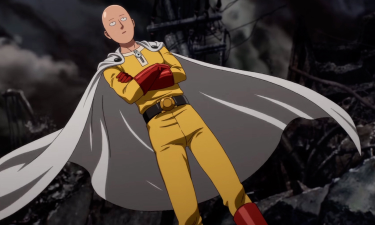 One Punch Man Saitama anime superhero