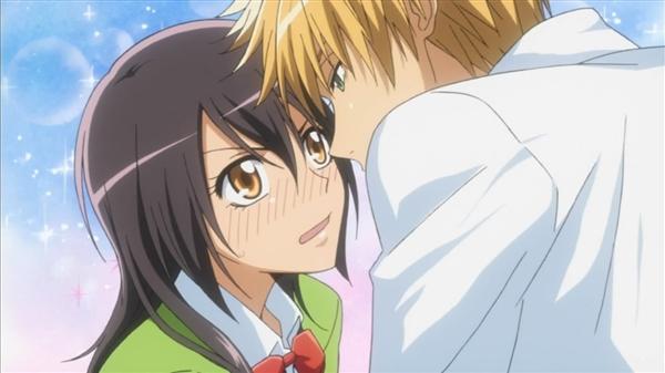 Misaki and Takumi - Kaichou wa Maid-Sama