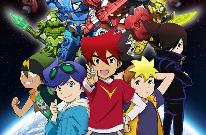 Tenkai Knights mecha anime robot