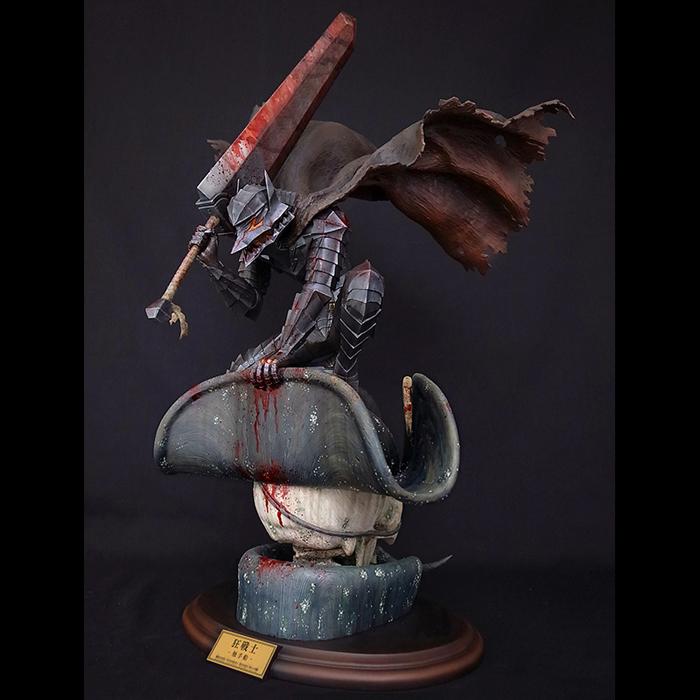 Berserk Art Of War No.402 Berserk - The Tentacle Ship Blue Steel Version Figure