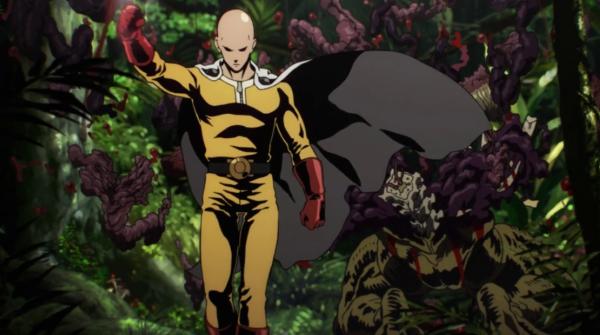 One Punch Man Opening Saitama