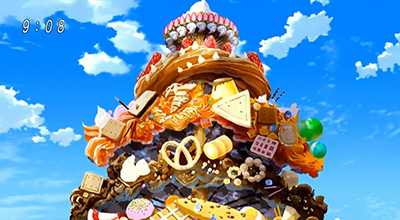 Toriko Food Confectionery Tree