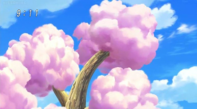 Toriko Food Cotton Candy Tree