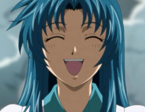 "Full Metal Panic! Top 20 Anime Girls With Blue Hair Kaname ""Kana"" Chidori"