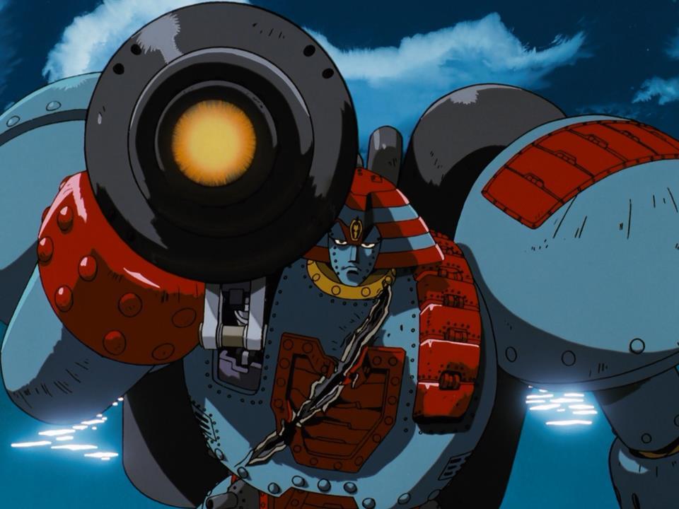 Giant Robo mecha anime robot Daisuku Kasama