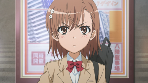 Mikoto Misaka - Toaru Majutsu no Index (A Certain Magical Index) Top 20 Anime Girls with Brown Hair